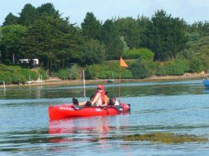 kayak mer seul